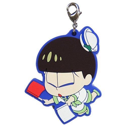 Osomatsu-san Natsuda! Umida! Vacation Daji yo! Hatamatsu Rubber Mascot – Choromatsu (Ichiban KUJI Premio J)