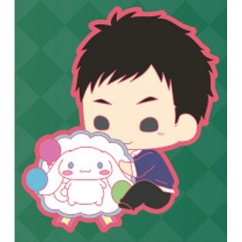 Sanrio Boys Peta Colle Rubber Strap – Sanrio Danshi (Shifuku Ver.)