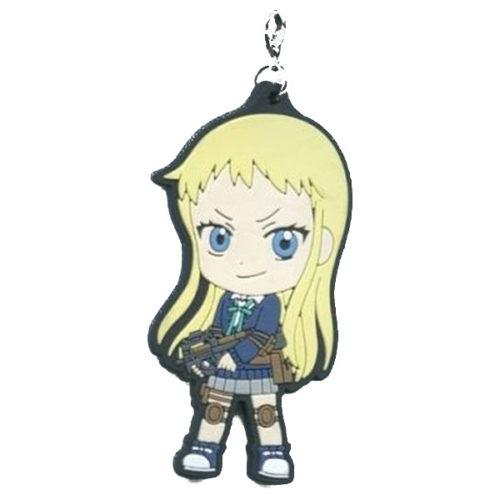 Stella Jo-Gakuin Koto-ka C3-bu Rubber Key Holder – Karila Hatsuse